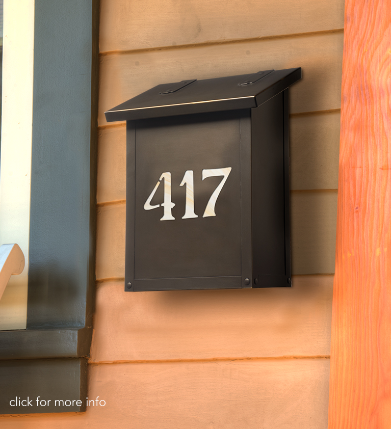 Classic Mailbox with House Number