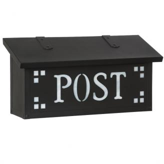 oil rubbed bronze mailbox wall mounted