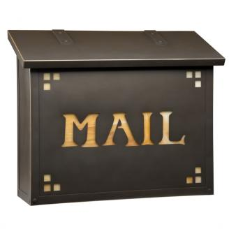 vintage wall mount mailbox