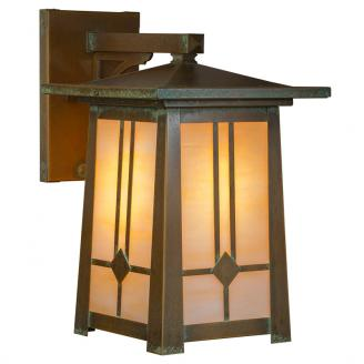 craftsman style outdoor lighting sconce