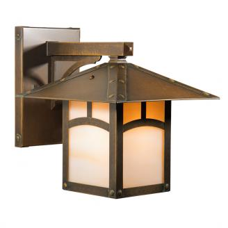 craftsman style wall sconce lighting